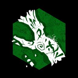 腐った樫の木の画像