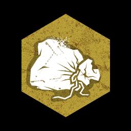 クリーム粉のポーチの画像