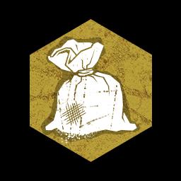 塩のポーチの画像