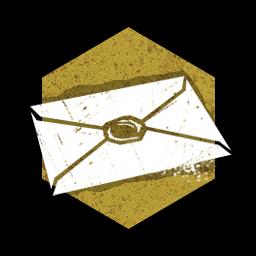 封がされた封筒の画像