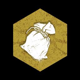 白い粉のポーチの画像