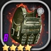 防弾チョッキBのアイコン