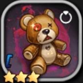 クマのぬいぐるみCのアイコン
