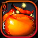 肥満の火蝙蝠アイコン