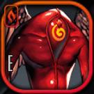 赤いウォッチャーアイコン