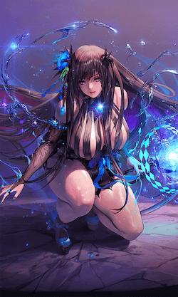 紺碧の少女の画像