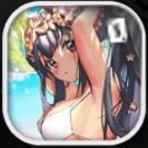 海辺の女神アイコン