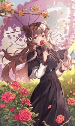 花の楽園の画像