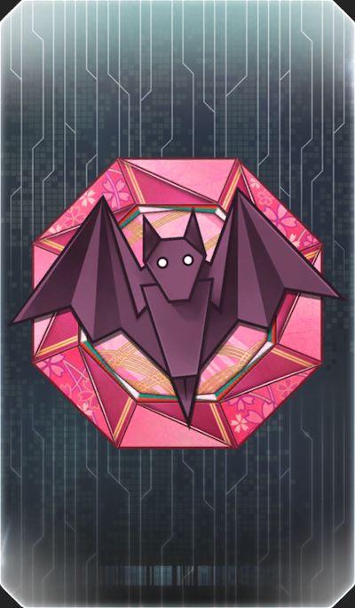 姫路コウモリのイラスト
