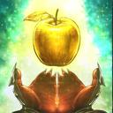 黄金のリンゴのアイコン