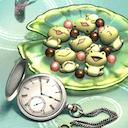 懐中時計&カエルチョコのアイコン