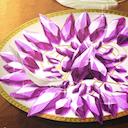 紫水晶の砂糖菓子のアイコン