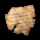 イリアス紙片のアイコン