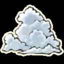 入道雲の上のアイコン