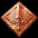 銅のセイバーバッヂのアイコン