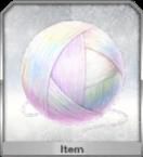 虹の糸玉のアイコン
