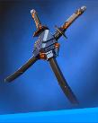 デスストロークの背負い刀
