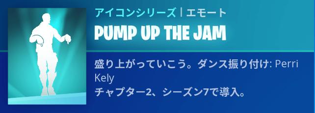 PUMP UP THE JAMの画像