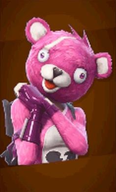ピンクのクマちゃんの画像