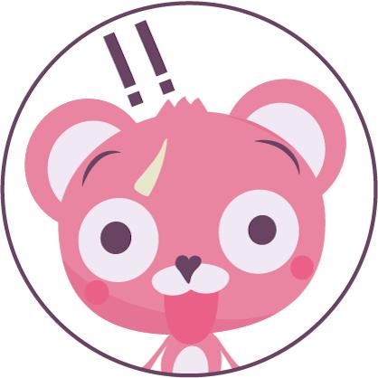 ピンクマのアイコン