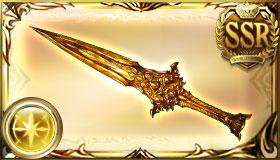 黄金の依代の刃