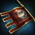 指揮軍旗のアイコン