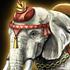 印度白象のアイコン