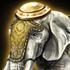 印度象のアイコン