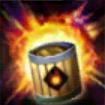 火薬樽のアイコン