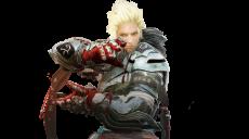 格闘家の正面画像