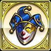 道化師の仮面アイコン