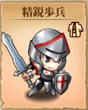 精鋭歩兵アイコン