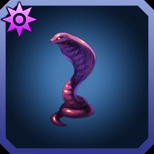 魔蛇の彫像のイラスト