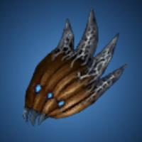 鎧蠍の肩のイラスト