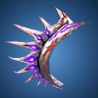 死龍の触角のイラスト