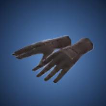 参謀の手袋のイラスト