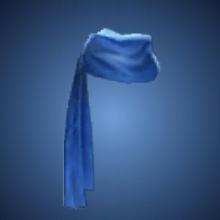 蒼海の腰布のイラスト