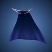 無限の青マントのイラスト