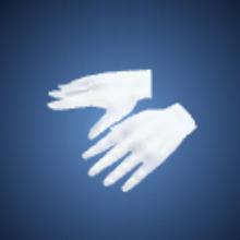 執事の手袋のイラスト