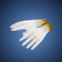 誓いの手袋のイラスト