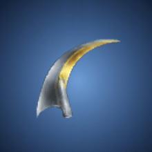 半月の刃のイラスト