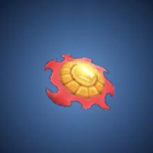 太陽の焔飾りのイラスト