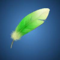 スモッグの羽根のイラスト