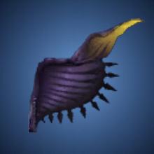 大翼竜の片翼のイラスト