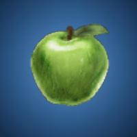 賢者のリンゴのイラスト