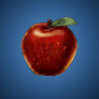 贖罪のリンゴのイラスト