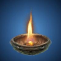 古代の火種のイラスト