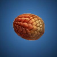 業火竜の卵のイラスト