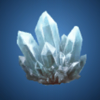 水晶の原石のイラスト