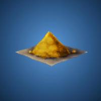 ゴールドパウダーのイラスト